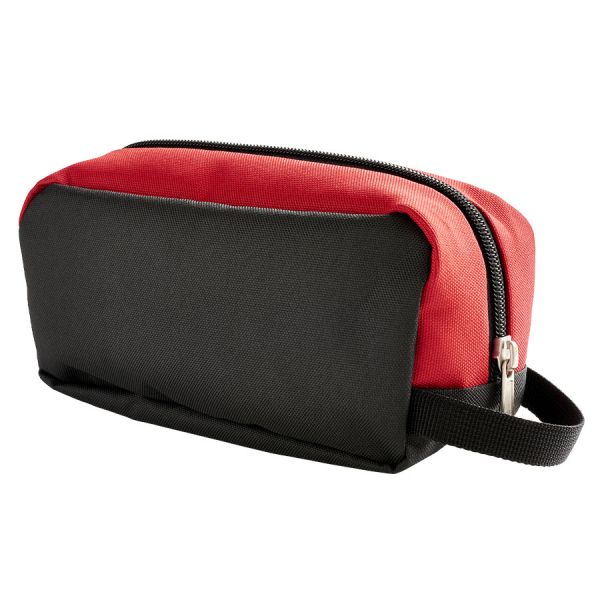 PENCIL CASE BLACK AND RED