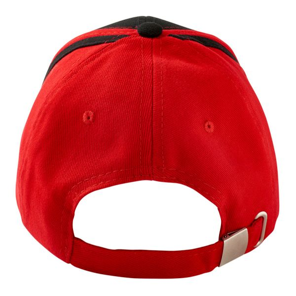 Black and red Kids cap