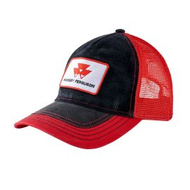 Red and Black Cap