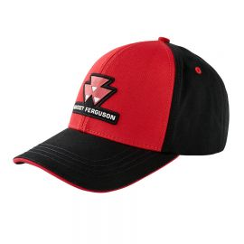 BLACK AND RED CAP