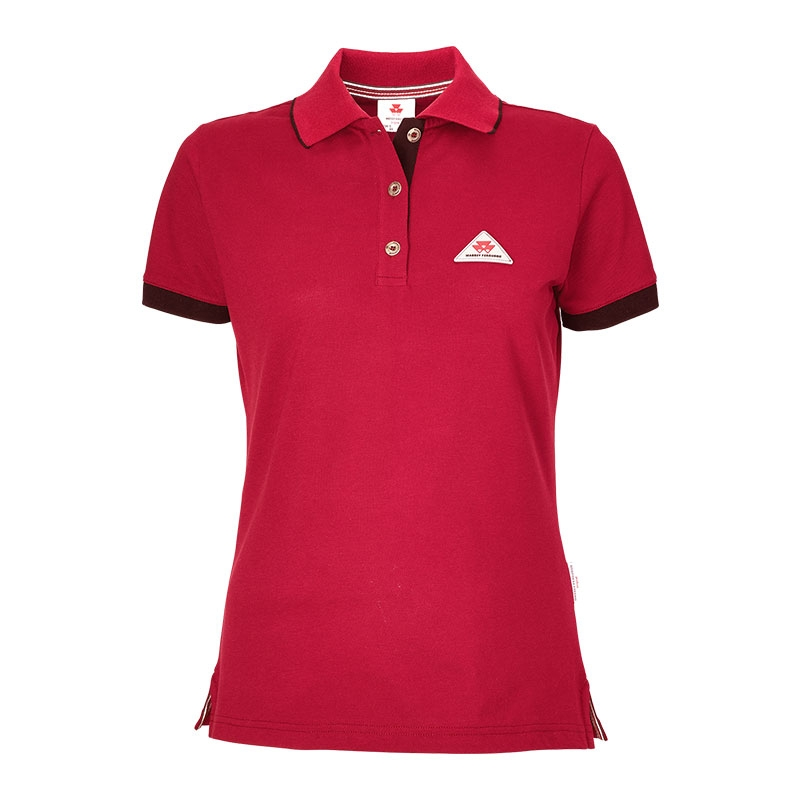 Ladies' Red Polo